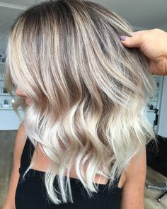 "947 Likes, 14 Comments - Hottes Hair (@hotteshair) on Instagram: ""PERFECT BALAYAGE @hotteshair @jamie_hotteshair #balayage #blonde #toner #olaplex #behindthechair…"""
