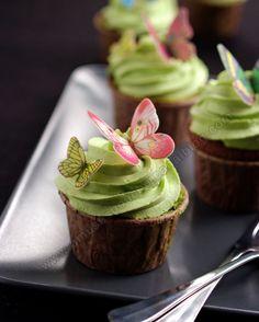 Cupcakes choco-pistacho. Amuses Bouche.