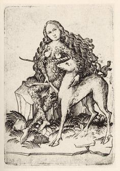 La reine ds animaux - Allemagne vers 1465