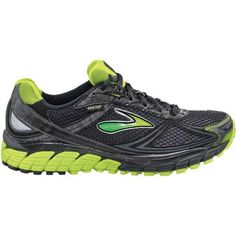 cbfbf69d17 Women's Brooks Ghost GTX Trail Running Shoe - Citron/Black 9.5