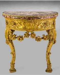 È della seconda metà del XVIII secolo la coppia di tavoli da parete di Antonio Landucci esposta dalla Galleria Silva