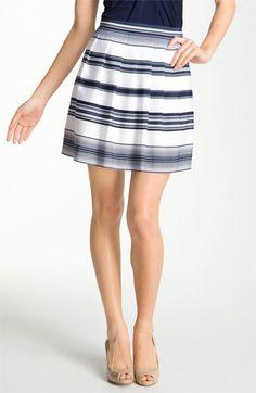 Vince Camuto 'Caribbean Stripe' Skirt (Petite) | Nordstrom