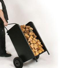 Chariot à bois Chariot à bûches - 2 en 1 Rangement + chariot: Amazon.fr: Cuisine & Maison
