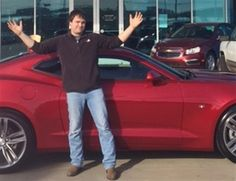 CORY's new 2016 CHEVROLET CAMARO! Congratulations and best wishes from Orr Chevrolet and TERRY COUCH.