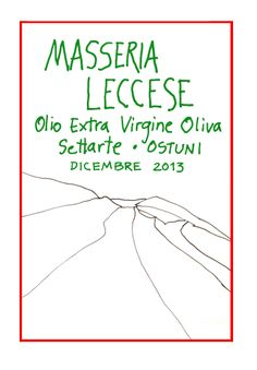 olive oil . by masseria leccese