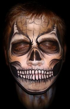 pictures of halloween paintings amazing halloween face painting designs photography - Scary Face Paint Ideas For Halloween