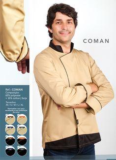 Jaleca Coman/Coman chef coat