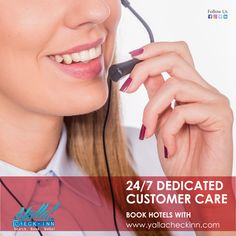 24/7 #Dedicated #Customer #Care #BOOK #HOTELS with  www.yallacheckinn.com Hotels, Check, Books, Libros, Book, Book Illustrations, Libri