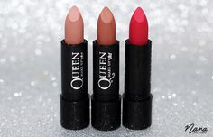 Batom Fosco - Cores 12, 13 e 19 - Queen Make Up.                                                                                                                                                                                 Mais