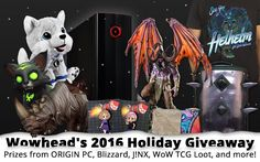 #gaming #wow #news  Wowhead's 2016 Holiday…  | Check out these deals! >>> www.ebargainstoday.com Use coupon code ESTREAMSTUDIOS and save!