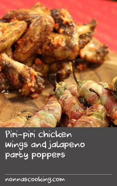 Spice up your Christmas feast with these fiery appetisers. If you're catering for a crowd, it's easy to double or triple the recipe. Easy Chicken Wing Recipes, Piri Piri, Party Poppers, Trifle Recipe, Food Trucks, Yum Yum Chicken, Appetisers, Apple Recipes, Christmas Recipes