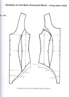 This princess seamed block curves in at the waist as well as the side. I think that this will assist in fitting