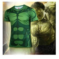 Animated Hulk Compression Shirt
