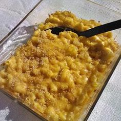Old School Mac n' Cheese | This is a completely unpretentious, down-home macaroni and cheese recipe just like my grandma and mom always made.