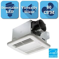Delta BreezGreenBuilder Series 80 CFM Ceiling Exhaust Bath Fan with LED Light (218) Write a ReviewQuestions & Answers (60)Galvanized steel material resists rustEasily ventilates bathrooms up to 80 sq. feetFlushmount installation with long lasting LED lights$12512/box LET'S PROTECT THIS.Add a 2-year Home Depot Protection Plan for $18.00Learn More