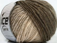 Please note that the yarn is a self-striping yarn. Fiber Content 60% Acrylic, 40% Wool