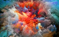 paint explosion wallpaper 3723