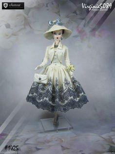Tenue Outfit Accessoires Pour Fashion Royalty Barbie Silkstone Vintage 1425   eBay