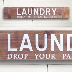 Our laundry sign is a LARGE wood sign that's farmhouse vintage inspired. It's…