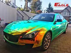 Eaglevinyl is a manufacture which is professional at customized solution for vinyl wrap sticker used on automobile,architecture,mobile phone,laptop and advertising industry.At the same time,we can also brand your name on these items Holographic Car, Chrome Cars, Advertising Industry, Custom Wraps, Car Painting, Car Wrap, Future Car, Water Crafts, Cars