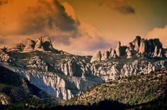 Montañas de Montserrat. Barcelona, España