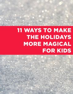 Keep the magic alive with these great ideas: http://bzfd.it/1oLGtmt | via @hallmark