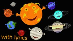 SAVED HYB The Solar System Song (with lyrics). My kids sang this song for their parents at our solar system program. Solar System Song, Space Solar System, Solar System Projects, Kindergarten Science, Science Classroom, Teaching Science, Science For Kids, Preschool Learning, Classroom Ideas