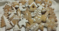 """Ajándékba szeretném adni a mézeskalács gluténmentes változatát. Rengeteg receptet elolvastam, aztán maradtam ennél az """"ismertnél"""". Eredetile... What To Cook, Gingerbread Cookies, Cooking, Christmas, Diy, Advent, Food, Cakes, Gingerbread Cupcakes"""