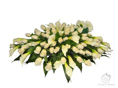 Toronto sympathy and funeral flowers Casket Sprays, Sympathy Flowers, Funeral Flowers, Toronto, Wreaths, Plants, Door Wreaths, Deco Mesh Wreaths, Plant