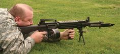 If you really want a firearm on your vehicle, the standard is an M2HB QCB, but it is incredibly heavy because of it's massive bullets, so just stick with a M16A4 converted into a light machine gun.