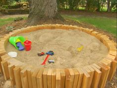 brick retaining wall sandbox much better than the tacky ones people buy at walmart backyard playground pinterest retaining walls sandbox and