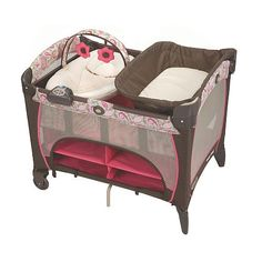 """Graco Pack 'n Play Playard with Newborn Napper Station DLX - Jacqueline - Graco - Babies """"R"""" Us"""
