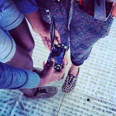 Feet on the floor @dechelll @novena - @derekgtaylor- #webstagram