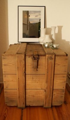 wooden cargo box 1946