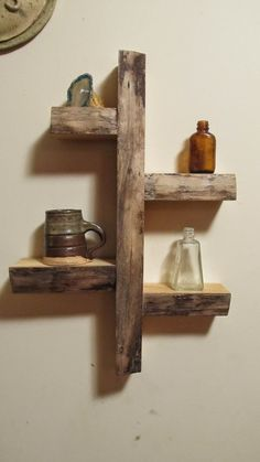 Simple Wood Display Shelf      -   #crafts  #diy