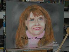 Commission Portrait   Custom Portraits  by JackJacksWayart on Etsy