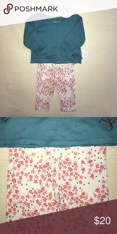BURT'S BEES Baby Outfit 0-3months NWT nwt Burt's Bees Baby Matching Sets