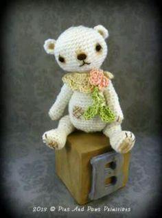 Petals/Thread Artist Bear/Debra/ebay