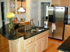 51 Small Kitchen with Islands Designs | Island design, Epiphany and ...