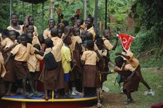 Merry-go-round Ghana Empower Playgrounds