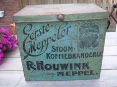 Marktplaats.nl - winkelblik koffie R.Houwink uit Meppel ca.1900 - Blikken