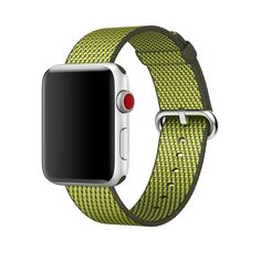 Apple Watch Series 3 LTE silver 42mm with Woven Nylon band dark olive - my next watch