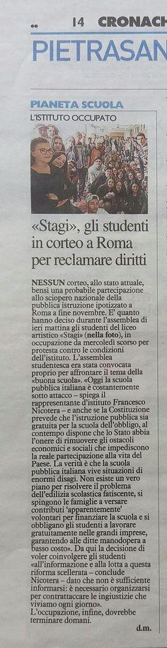 """""""La Nazione"""", 31.10.2017"""