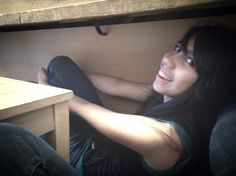 Playing Hide-And-Seek from the teacher in band xD