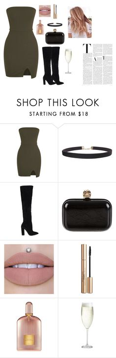 """#110"" by grozde-sekulovska ❤ liked on Polyvore featuring Humble Chic, ALDO, Alexander McQueen, Elizabeth Arden, Tom Ford and Crate and Barrel"