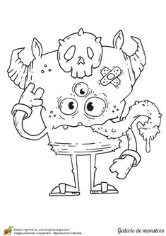 drawings of friends Monster Coloring Pages, Fall Coloring Pages, Halloween Coloring Pages, Coloring Books, Doodle Monster, Movie Crafts, Painting Templates, Drawings Of Friends, Monster Cards