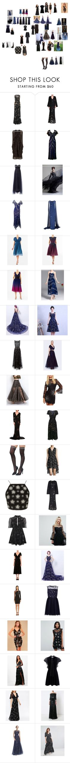 """""""About to make into a collection"""" by wastedstalker ❤ liked on Polyvore featuring Jenny Packham, Alexander McQueen, Notte by Marchesa, WithChic, Valentino, Fame & Partners, YiGelila, Free People, STELLA McCARTNEY and RED Valentino"""