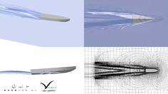 NUMECA FINE™/Marine - Eker Design stepped hull simulation