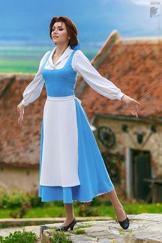 Belle Cosplay by Ryoko Demon Belle Cosplay, Disney Princess Costumes, Disney Costumes, Disney Belle Costume, Cinderella Costume, Disney Princess Dresses, Disney Dresses, Disney Princesses, Cosplay Outfits