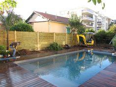 1000 id es sur am nagement paysager de piscine sur - Amenagement paysager avec piscine creusee ...